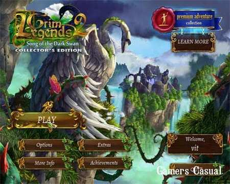 Grim Legends 2: Song of the Dark Swan Collector's Edition (2014)