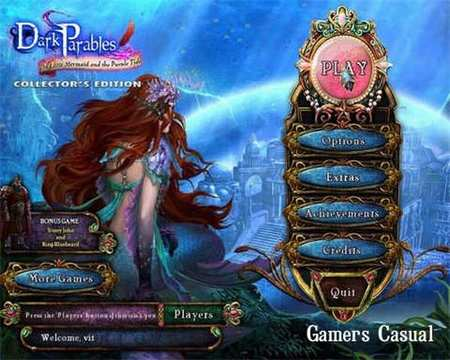 Dark Parables 8: The Little Mermaid and the Purple Tide. Collector's Edition