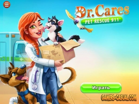 Dr. Cares. Pet Rescue 911. Platinum Edition